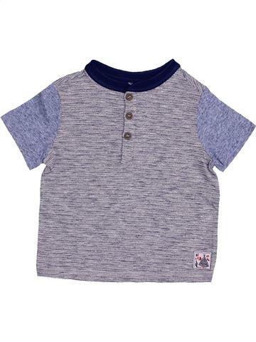 T-shirt manches courtes garçon SANS MARQUE gris 2 ans été #1433156_1