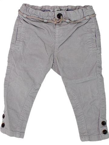Pantalón niña ZARA gris 18 meses invierno #1433220_1