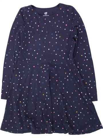 Vestido niña H&M azul 10 años invierno #1433338_1