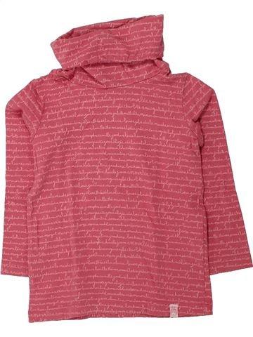Camiseta de cuello alto niña DPAM rosa 3 años invierno #1433393_1