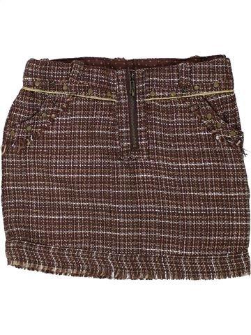 Falda niña ORCHESTRA marrón 8 años invierno #1433640_1