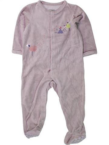 Pijama de 1 pieza niña VERTBAUDET rosa 18 meses invierno #1433676_1
