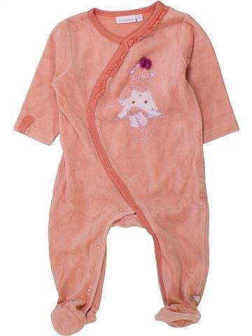 Pijama de 1 pieza niña NOUKIE'S rosa 6 meses invierno #1433679_1