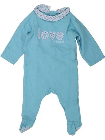 Pijama de 1 pieza niña OKAIDI azul 3 meses verano #1433820_1