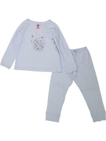 Pijama de 2 piezas niña PETIT BATEAU gris 2 años invierno #1433879_1
