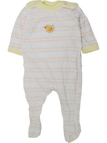Pijama de 1 pieza niño MARKS & SPENCER blanco 3 meses verano #1434419_1