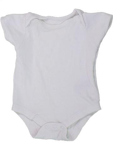 Camiseta de manga corta unisex BABY blanco 0 meses verano #1434425_1
