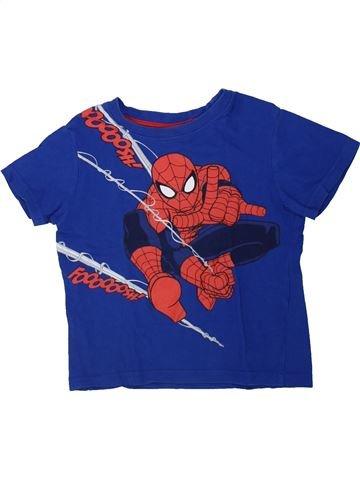 Camiseta de manga corta niño SUPERS HÉROS azul 4 años verano #1434606_1