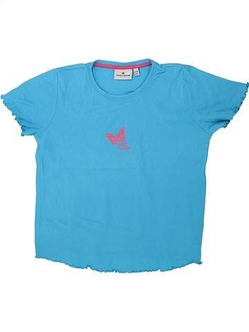 T-shirt manches courtes fille TOM TAILOR bleu 9 ans été #1435621_1