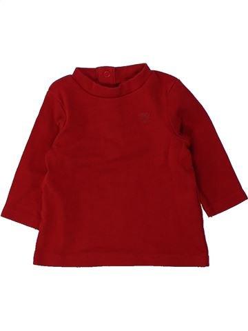 T-shirt manches longues garçon ORCHESTRA rouge 3 mois hiver #1436223_1