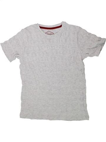 T-shirt manches courtes garçon AWESOME APPAREL gris 10 ans été #1436375_1