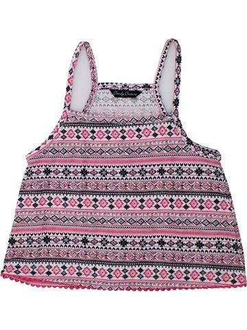 Camiseta sin mangas niña CANDY COUTURE violeta 9 años verano #1436489_1