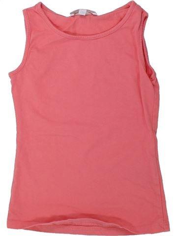 T-shirt sans manches fille CHARLES VÖGELE rose 6 ans été #1436871_1