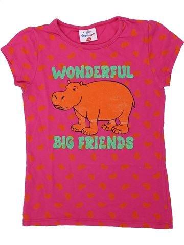 T-shirt manches courtes fille TOPOLINO rose 8 ans été #1436977_1