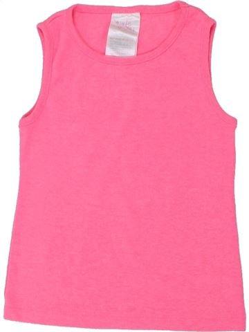 Camiseta sin mangas niña E-VIE ANGEL rosa 2 años verano #1437317_1