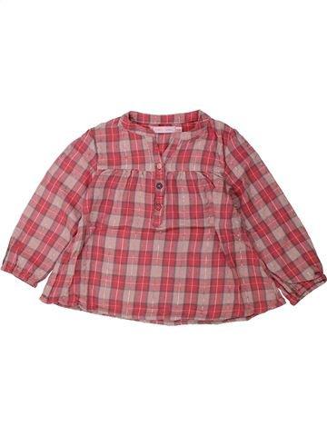 Blusa de manga larga niña GEMO marrón 3 años invierno #1438014_1