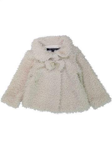 Veste fille LILI GAUFRETTE blanc 2 ans hiver #1438050_1