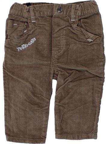 Pantalón niño TOUT COMPTE FAIT marrón 6 meses invierno #1439240_1