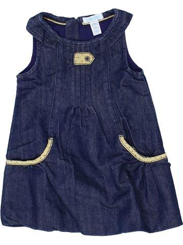 Robe fille OKAIDI bleu 6 mois hiver #1439287_1