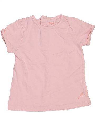 T-shirt manches courtes fille KIMBALOO violet 18 mois été #1440698_1