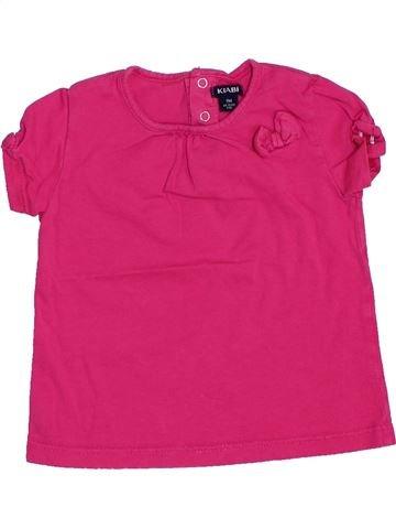 T-shirt manches courtes fille KIABI rose 9 mois été #1440708_1