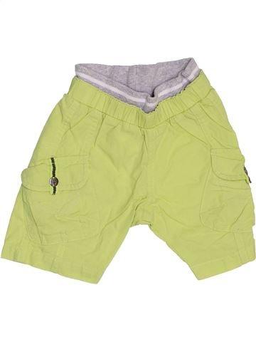Short-Bermudas niño BERLINGOT verde 3 meses verano #1440798_1