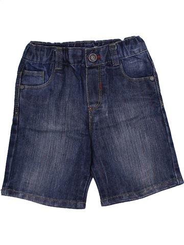 Short - Bermuda garçon OKAIDI bleu 18 mois été #1440844_1