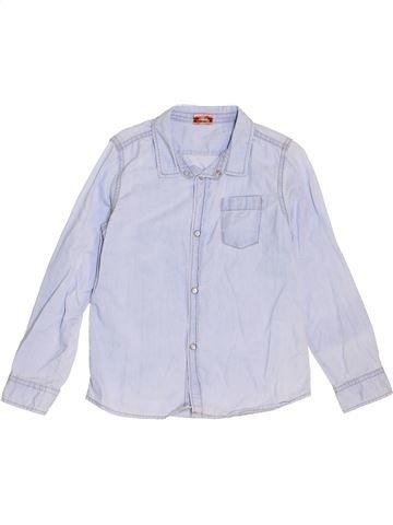 Chemise manches longues garçon TAPE À L'OEIL blanc 6 ans hiver #1441173_1