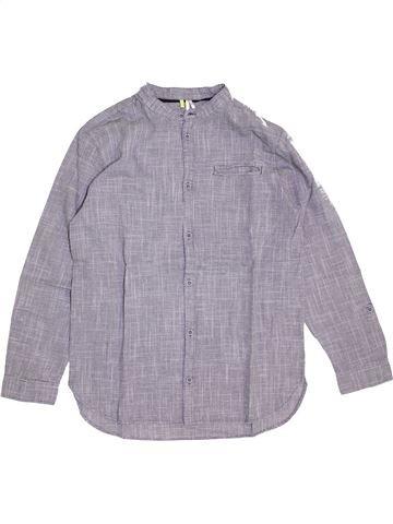 Chemise manches longues garçon ORCHESTRA gris 14 ans hiver #1441242_1