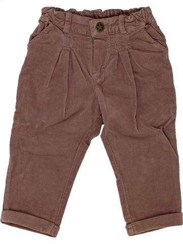 Pantalon fille MARÈSE violet 6 mois hiver #1441632_1