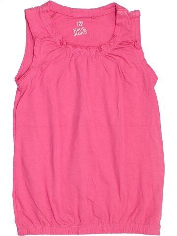 T-shirt sans manches fille KIKI & KOKO rose 7 ans été #1441771_1