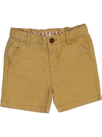 Short - Bermuda garçon ZARA marron 9 mois été #1442154_1