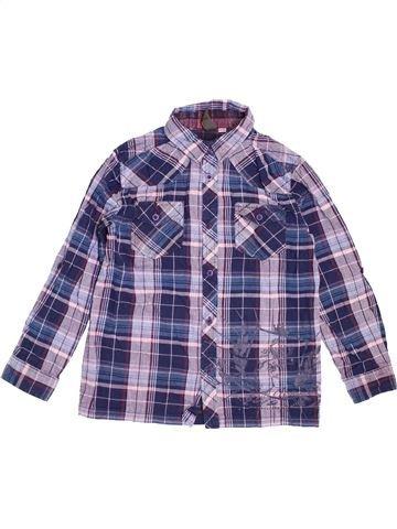 Chemise manches longues garçon URBAN 65 OUTLAWS bleu 10 ans hiver #1442806_1