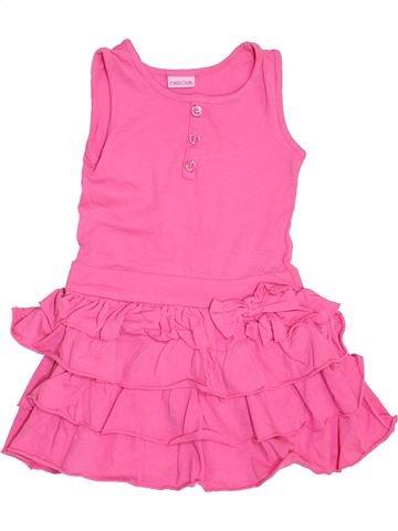 Vestido niña CHEROKEE rosa 4 años verano #1443244_1
