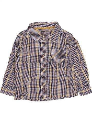 Chemise manches longues garçon TAPE À L'OEIL gris 2 ans hiver #1444201_1