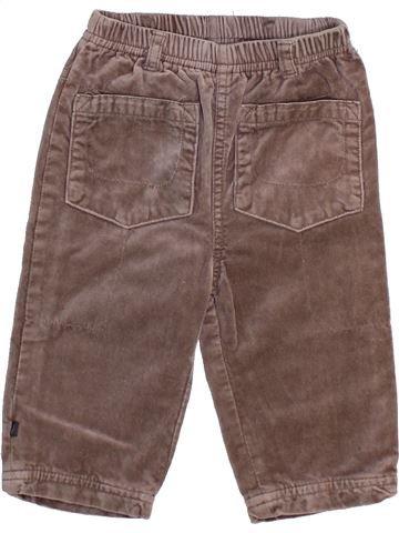 Pantalon garçon OKAIDI violet 12 mois hiver #1444362_1