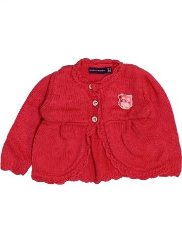 Chaleco niña SERGENT MAJOR rojo 3 meses invierno #1444377_1