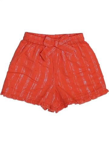 Short - Bermuda fille MONSOON rouge 6 mois été #1444745_1
