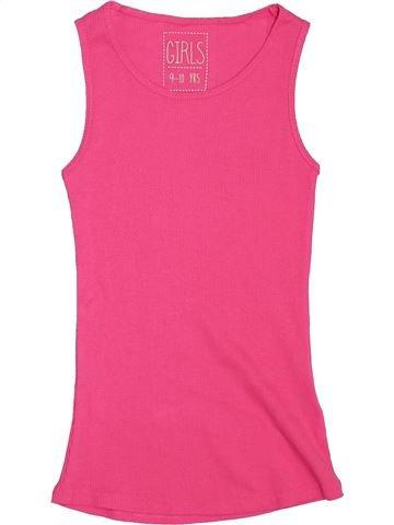 Camiseta sin mangas niña MISS E-VIE rosa 10 años verano #1444792_1