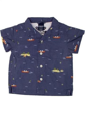 Chemise manches courtes garçon OSH KOCH B'GOSH bleu 12 mois été #1445808_1