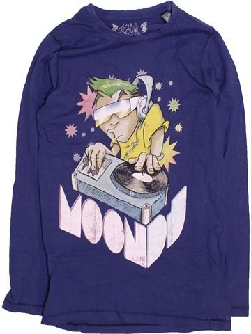 T-shirt manches longues garçon ZARA violet 6 ans hiver #1446278_1