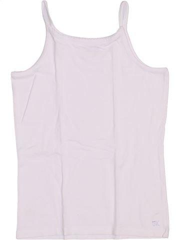 T-shirt sans manches fille ORCHESTRA blanc 10 ans été #1446439_1