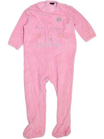 Pyjama 1 pièce fille KIABI rose 3 ans hiver #1447363_1