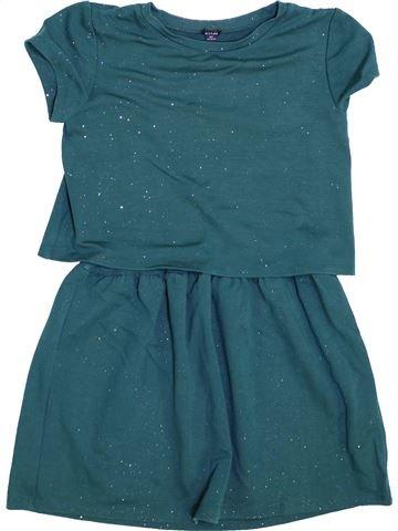 Robe fille KIABI vert 8 ans hiver #1447572_1