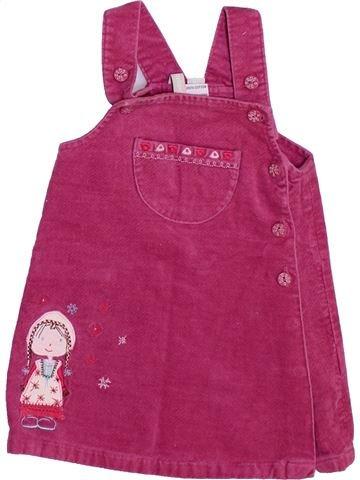 Vestido niña TOUT COMPTE FAIT rosa 6 meses invierno #1447686_1