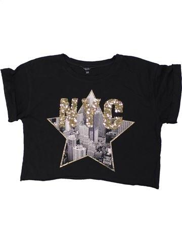 T-shirt manches courtes fille CANDY COUTURE noir 13 ans été #1447866_1