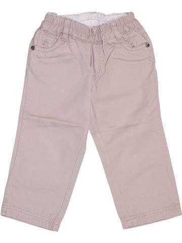 Pantalon garçon NECK & NECK gris 12 mois hiver #1448088_1