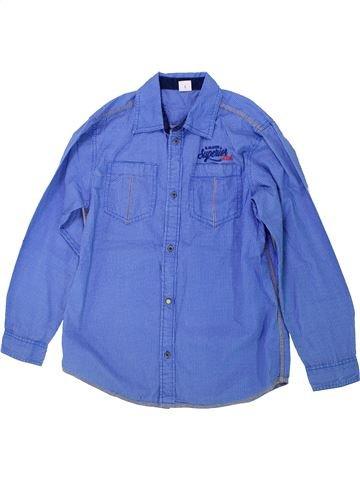 Chemise manches longues garçon S.OLIVER bleu 12 ans hiver #1448360_1