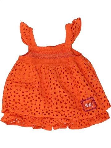 Túnica niña MARÈSE naranja 12 meses verano #1448577_1