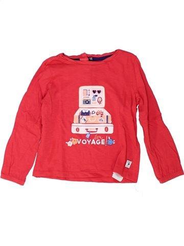 Camiseta de manga larga niña SERGENT MAJOR rojo 4 años invierno #1448787_1